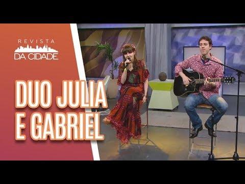 Duo Julia E Gabriel - Revista Da Cidade (14/06/18)