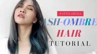 BEAUTY TUTORIAL: HOW TO GET ASH/GREY/SILVER HAIR COLOR | CAT RAMBUT JADI ABU