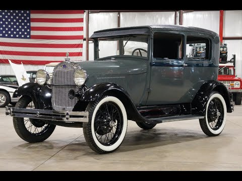 1929 Ford Model A For Sale - Walk Around Video
