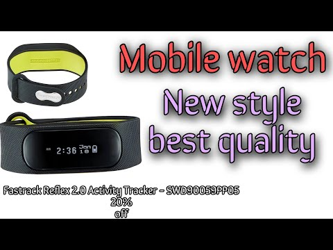 Mobile watch for men | Fastrack Reflex 2.0 Activity Tracker - SWD90059PP05