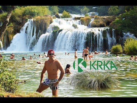 KRKA National Park - Sibenik CROATIA 4K 2016