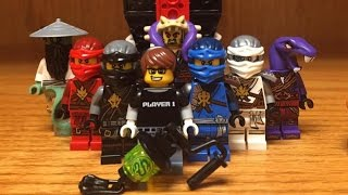 LEGO Ninjago Season 7 Minifigures Review from Ultra Stealth Raider Set