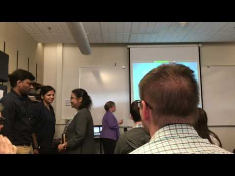 Multi Node Label Routing Protocol Demonstration - 5/12/17 - Rochester Institute of Technology