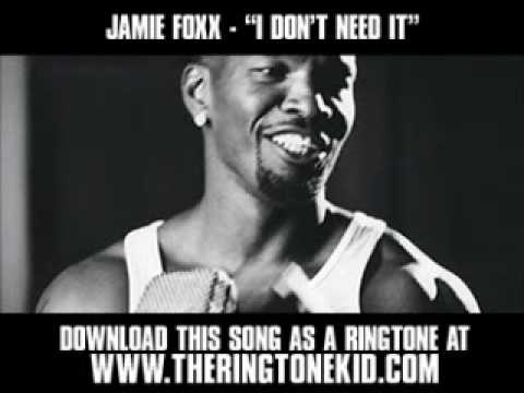 Jamie Foxx ft. Timbaland - I Don't Need It [ New Video + Lyrics + Download ]