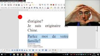 Préparer l'entretien CELA: nationalité, origine, famille