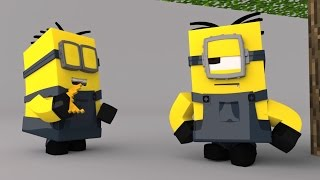 Minecraft, Minions, and Bananas! - Cartoons for kids