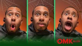 OMKalen: Kalen Reacts to Scary Movies