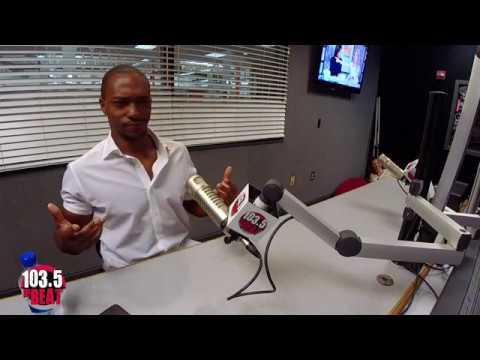Avengers Star Anthony Mackie Talks Infinity War & More at 103.5 The Beat!