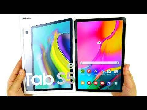 Samsung Galaxy Tab S5e Unboxing!