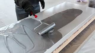 DIY Marble Countertop | Metallic Epoxy | Leggari Products