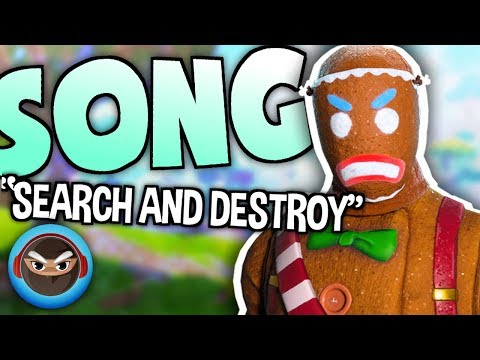 """FORTNITE BATTLE ROYALE SONG """"Search and Destroy"""" by TryHardNinja"""