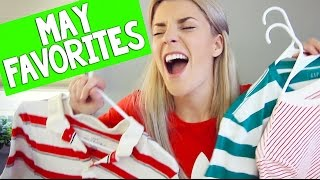 MAY FAVORITES // Grace Helbig, skincare, beauty, lip color, contour
