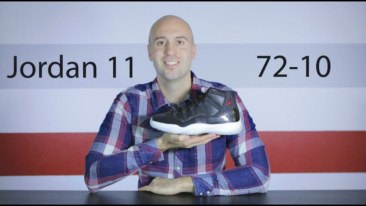 2d6f476ad15d Air Jordan 11 72-10 Three Quarter - Unboxing +Review + On Feet + Close up -  Mr Stoltz 2015