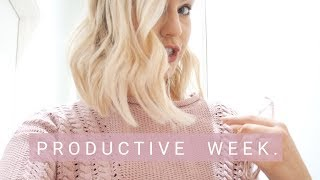 Productive Week In My Life | VLOG