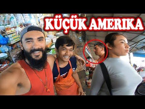 Küçük Amerika'da 1 Dolar 4000 Riel - Kamboçya Pazarı ~85