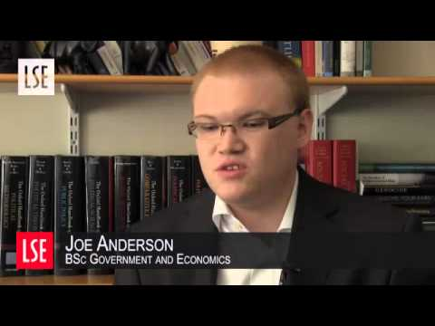Joe Anderson, BSc Government and Economics, discusses his first class undergraduate research