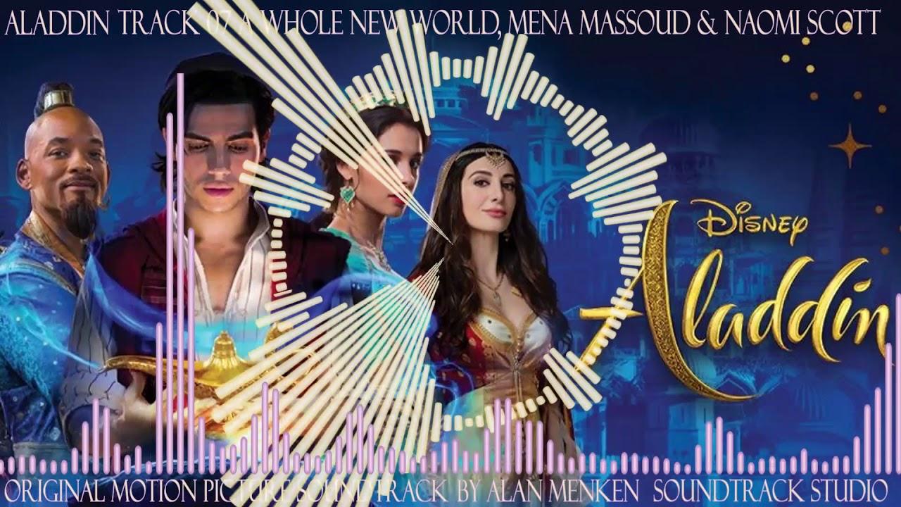 Aladdin, 07, A Whole New World, Mena Massoud & Naomi Scott - YouTube