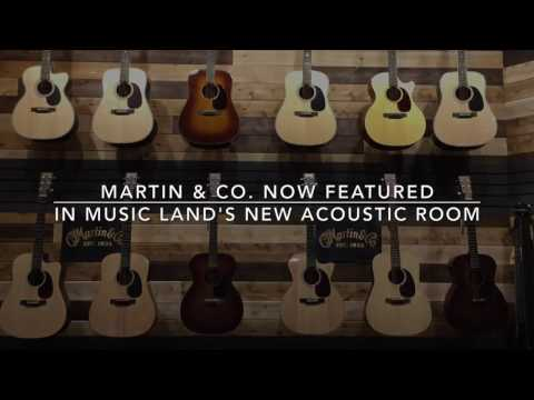 Music Land Visits the Martin Guitar Factory