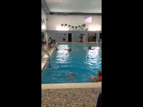 jumping on 11ft deep pool youtube