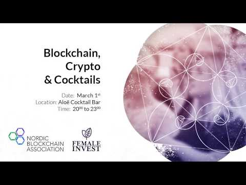 2018/03/01 Event by Nordic Blockchain Association and Female Invest