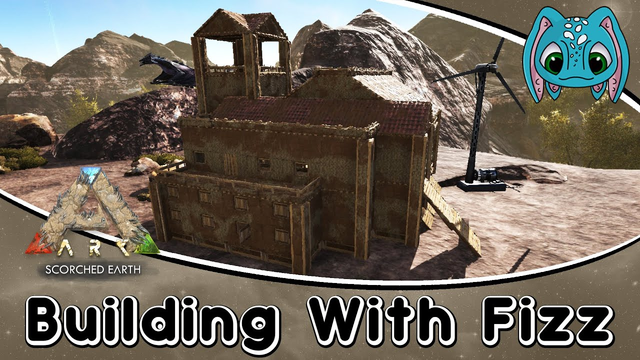 ARK Scorched Earth Building w Fizz New Adobe House Build