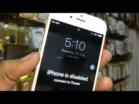 IPhone Disabled Connect To ITunes IPhone X