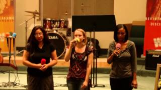 """The Truth About Me"" by Mandisa (Performed by Penny, Michelle, & Hillorie)"