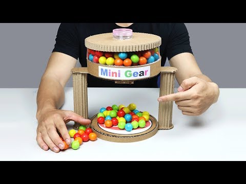 Thumbnail: Wow! Amazing DIY Gumball Automatic Machine from Cardboard