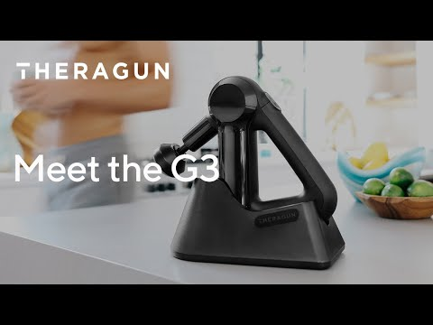"Video: Theragun Vibrationsmassagegerät ""G3"""