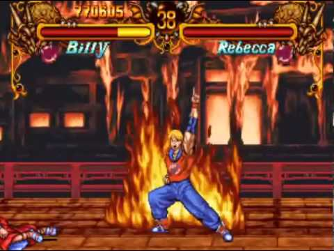 Double Dragon (Neo Geo/Arcade) Playthrough as Billy