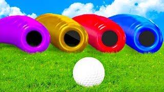 КАКОЙ ЖЕ ПУТЬ ВЫБРАТЬ? ТОЛЬКО ОДНА ТРУБА ВЕДЕТ К ФИНИШУ! СУПЕРСКОЕ ВЕЗЕНИЕ В ГОЛЬФ ИТ (Golf It)