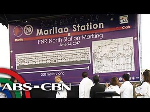 TV Patrol: 5 istasyon ng Manila-Clark Railway minarkahan