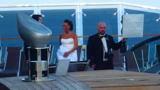 КРУИЗ Свадьба на корабле - МЕЧТА - MSC Divina cruise 19.03.2014