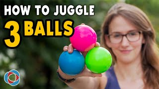 Learn to JUGGLE 3 BALLS - Beginner Tutorial