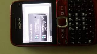 Download How to Install whatsapp on Nokia E63