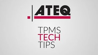 Troubleshooting tips when reading or activating a TPMS sensor using an ATEQ TPMS tool