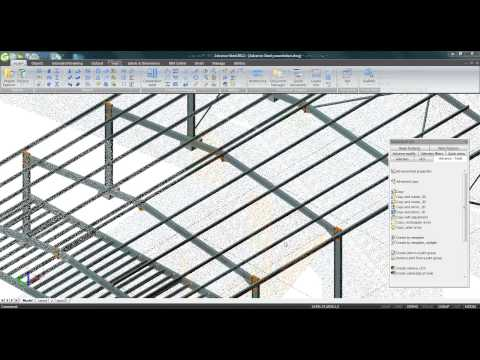 Create your building in minutes with Advance Steel