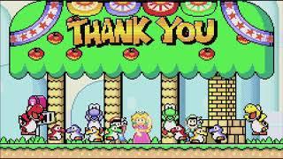 Super Mario World: Super Mario Advance 2 (GBA) - End Game Credits (Gameplay/Walkthrough)