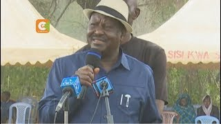 Odinga asks Nyanza base to support deal with Kenyatta