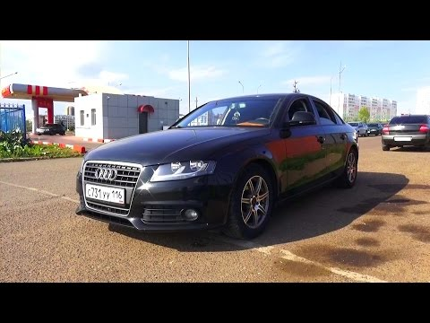 2008 Audi А4 (B8). 1.8 TFSI. Start Up, Engine, and In Depth Tour.
