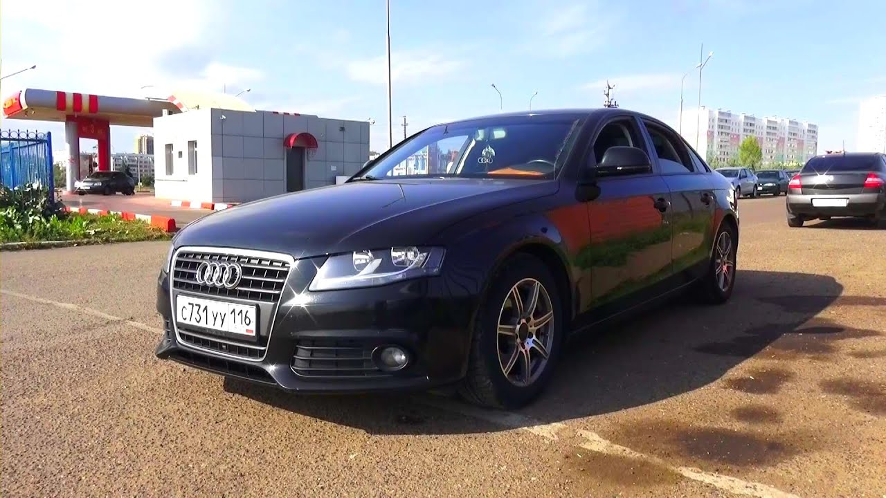 2008 Audi а4 B8 18 Tfsi Start Up Engine And In Depth Tour
