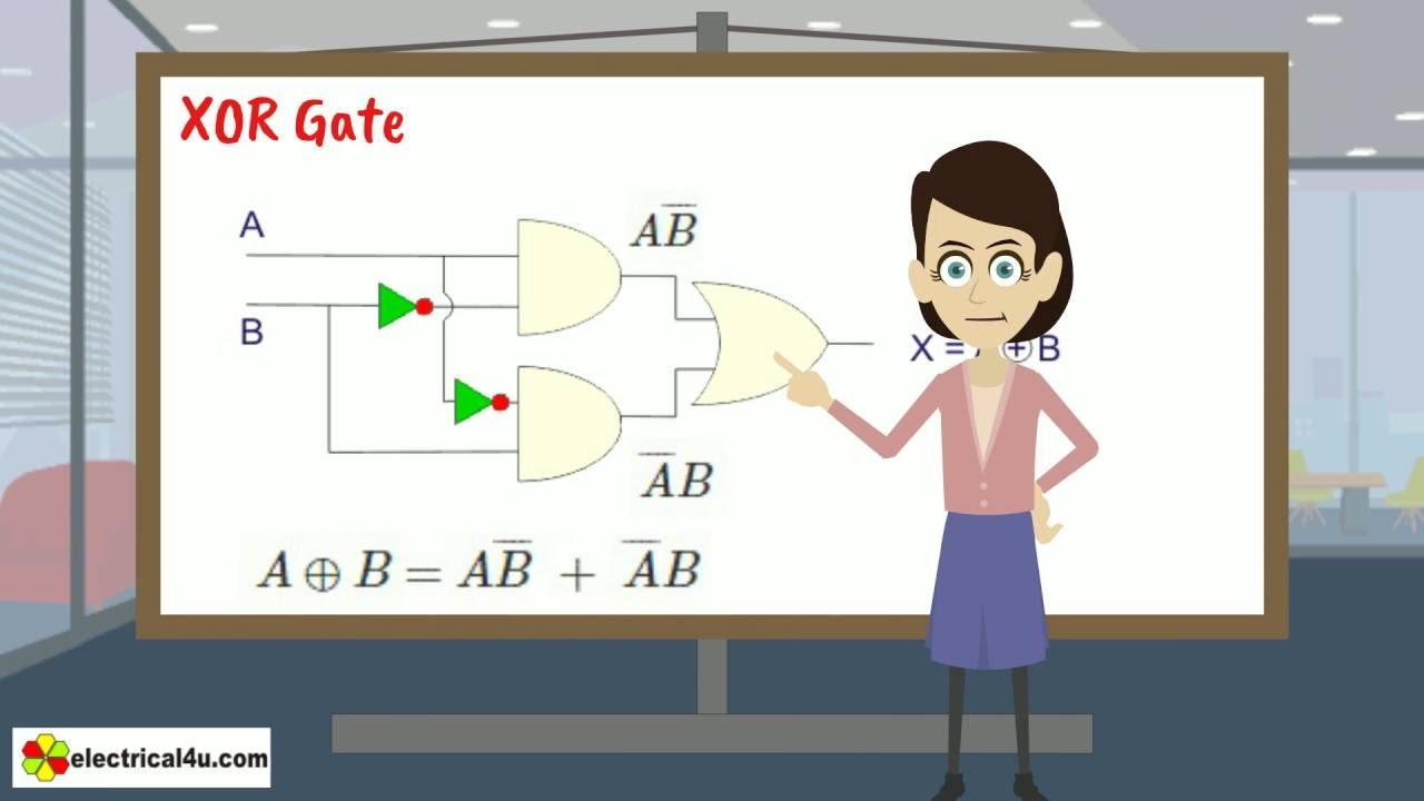 Xor Gate Youtube Transistor Logic And Animation