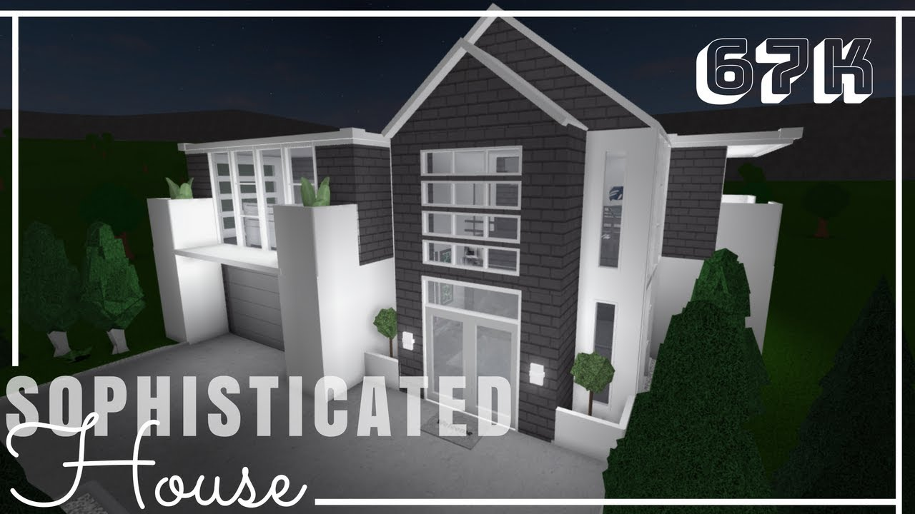 Roblox Bloxburg Sophisticated House No Advanced