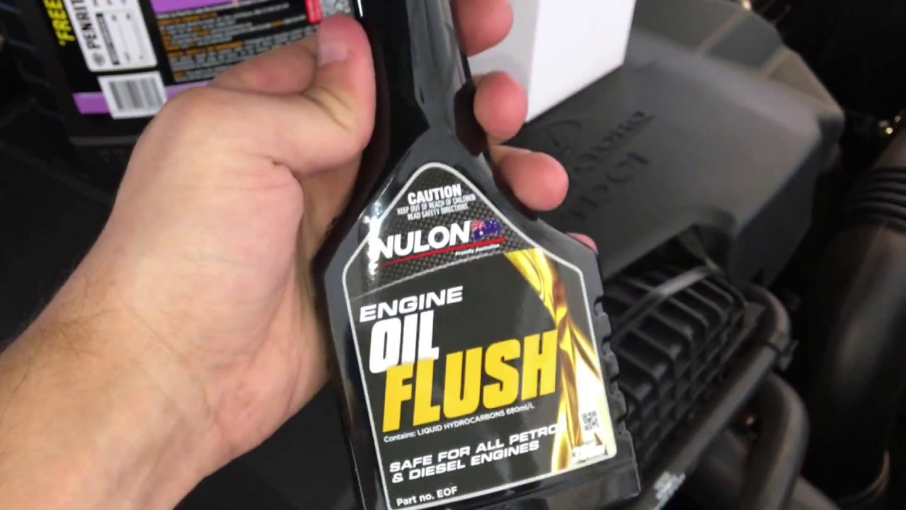 Review Does it Work: Oil Flush Additive test with results Can i just use  Diesel Fuel as engine flush