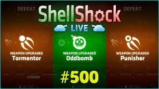 ODDBOMB, TORMENTOR & PUNISHER-UNLOCK | ShellShock Live #500 | [HD+]