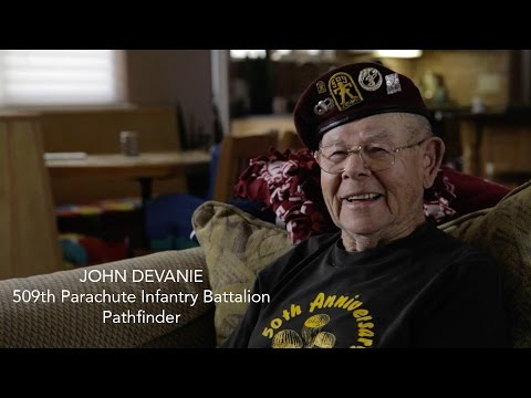A day with John Devanie, one of the last 509th Pathfinders