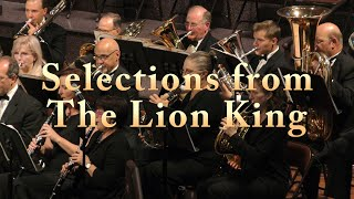 Gambar cover Selections from The Lion King  arr. John Higgins