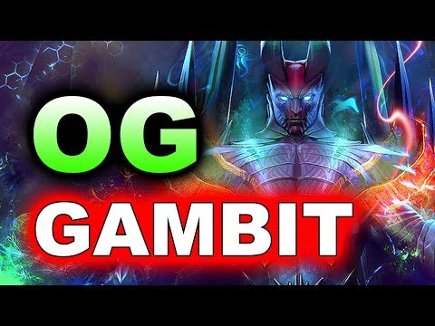 OG vs GAMBIT - GRAND FINAL - WePlay! Winter Madness $100,000 DOTA 2