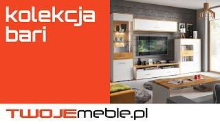Recenzja: Kolekcja Bari, Black Red White - TwojeMeble.pl