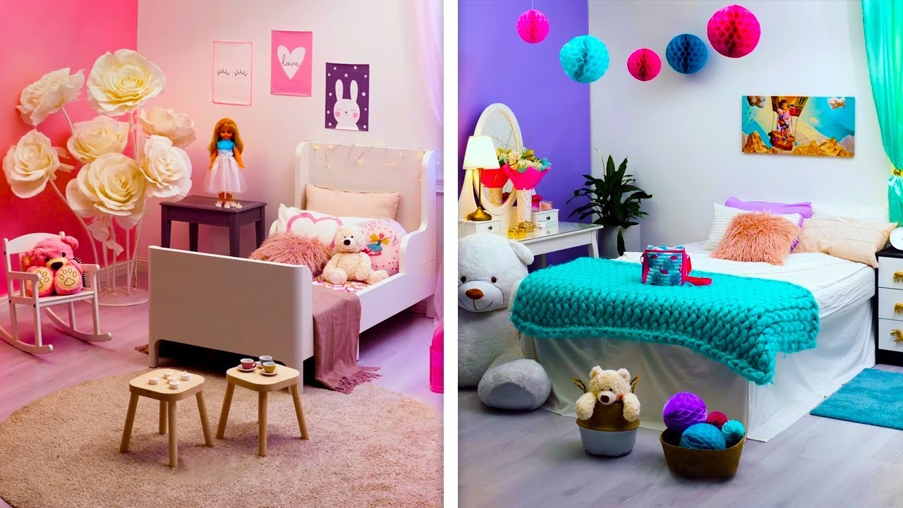 16 CREATIVE DECOR IDEAS TO BRIGHTEN YOUR ROOM - YouTube on How To Decorate Your Room  id=85204